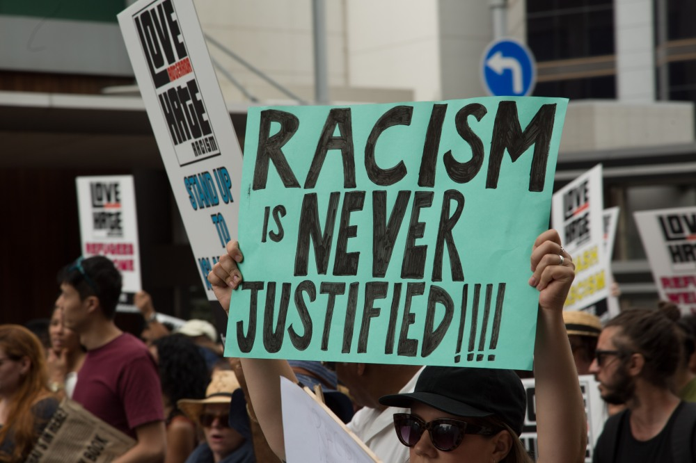 Placard_Racism_is_Never_Justified